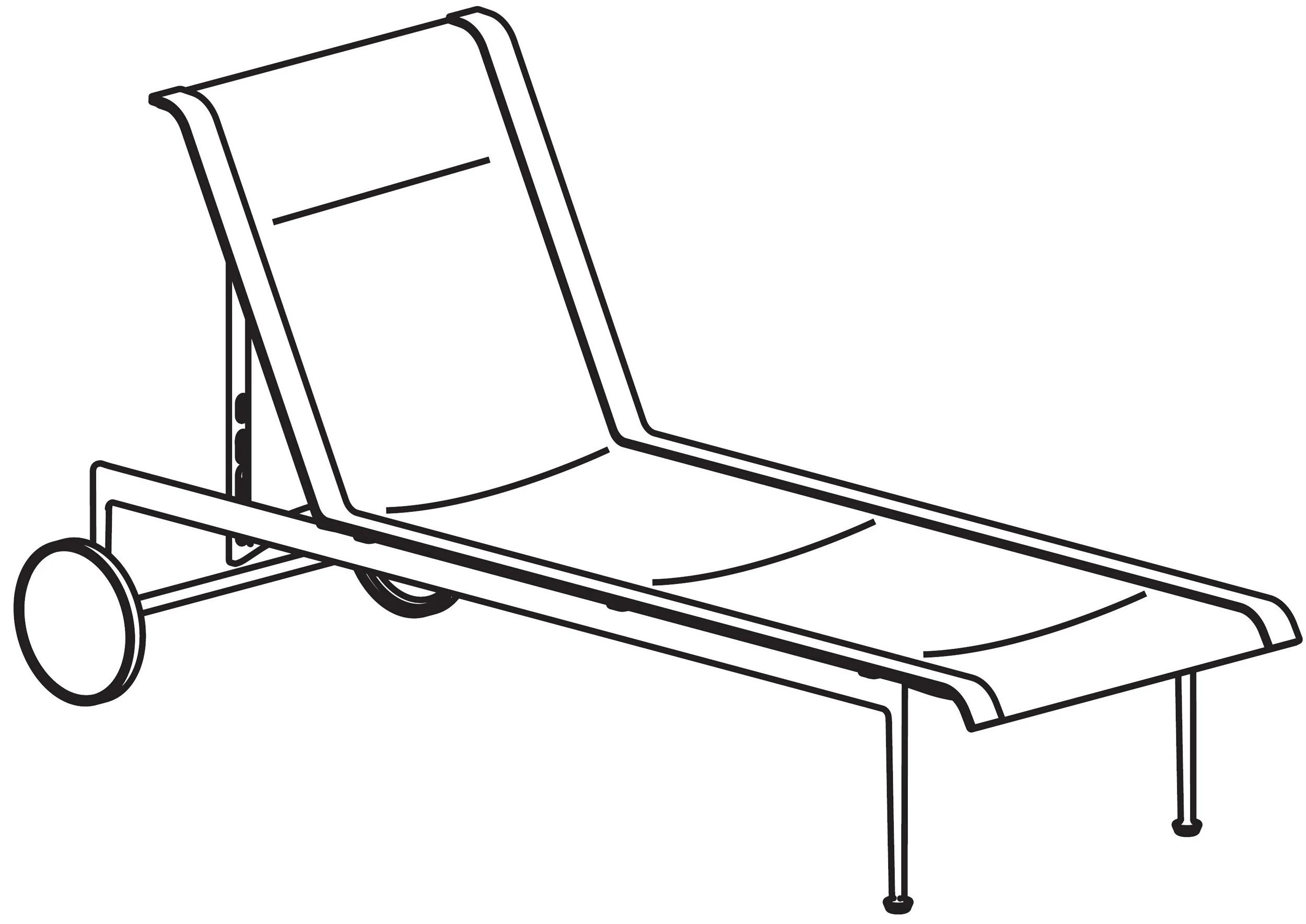 Richard Schultz Collection 42 Adjustable Chaise