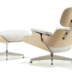 Eames Chair Canada Brookstone Full Body Massage Herman Miller Lounge And Ottoman White Ash