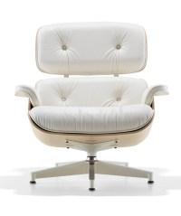 Herman Miller Eames Lounge Chair White Ash