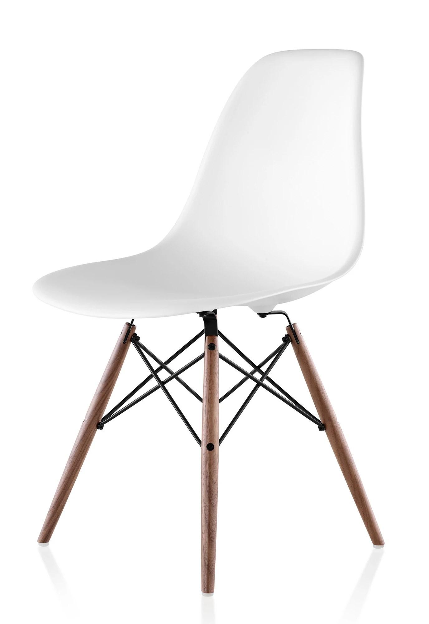 plastic molded chairs cobalt blue chair herman miller eames side gr shop