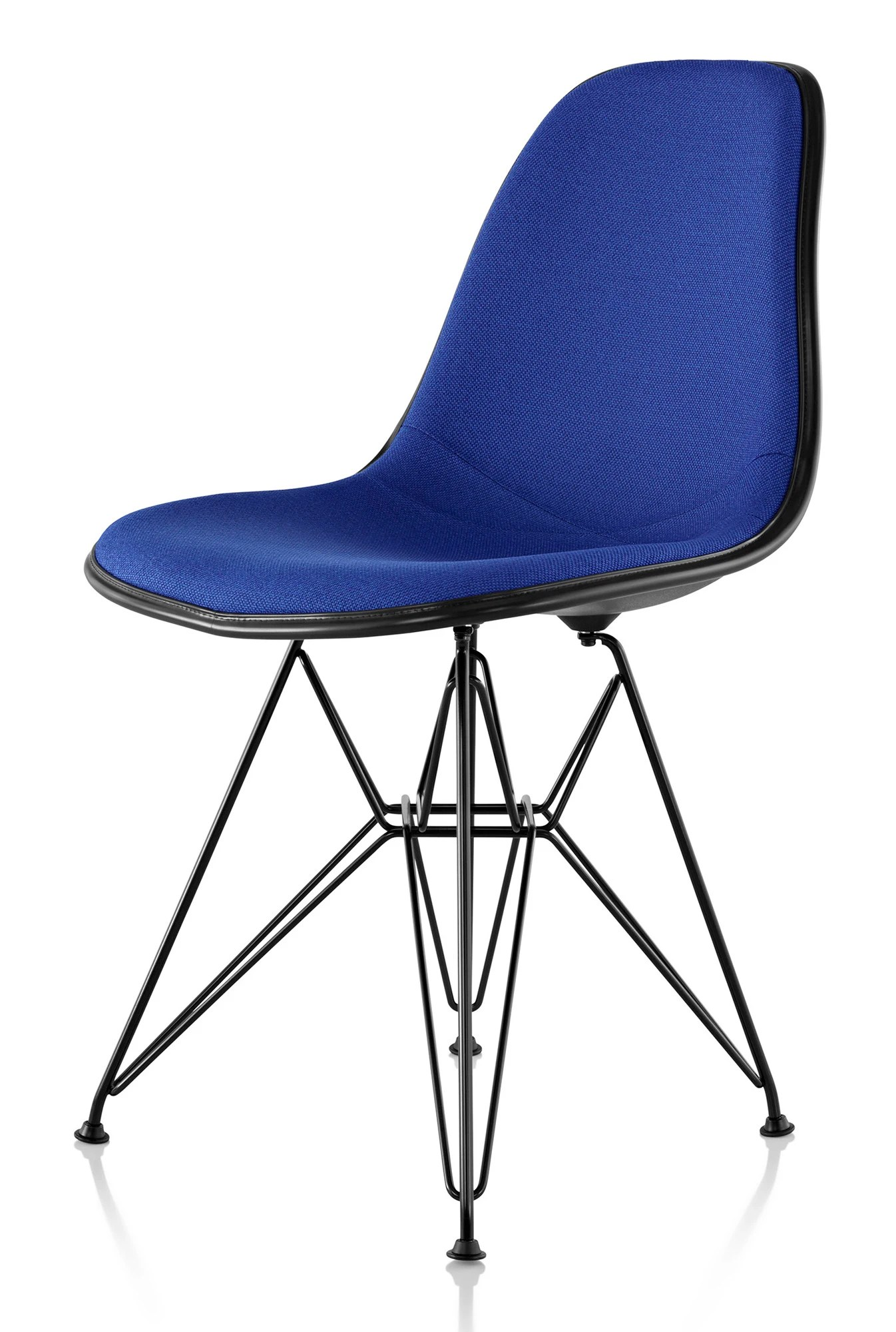 fiberglass shell chair jazzy power weight herman miller eames molded side