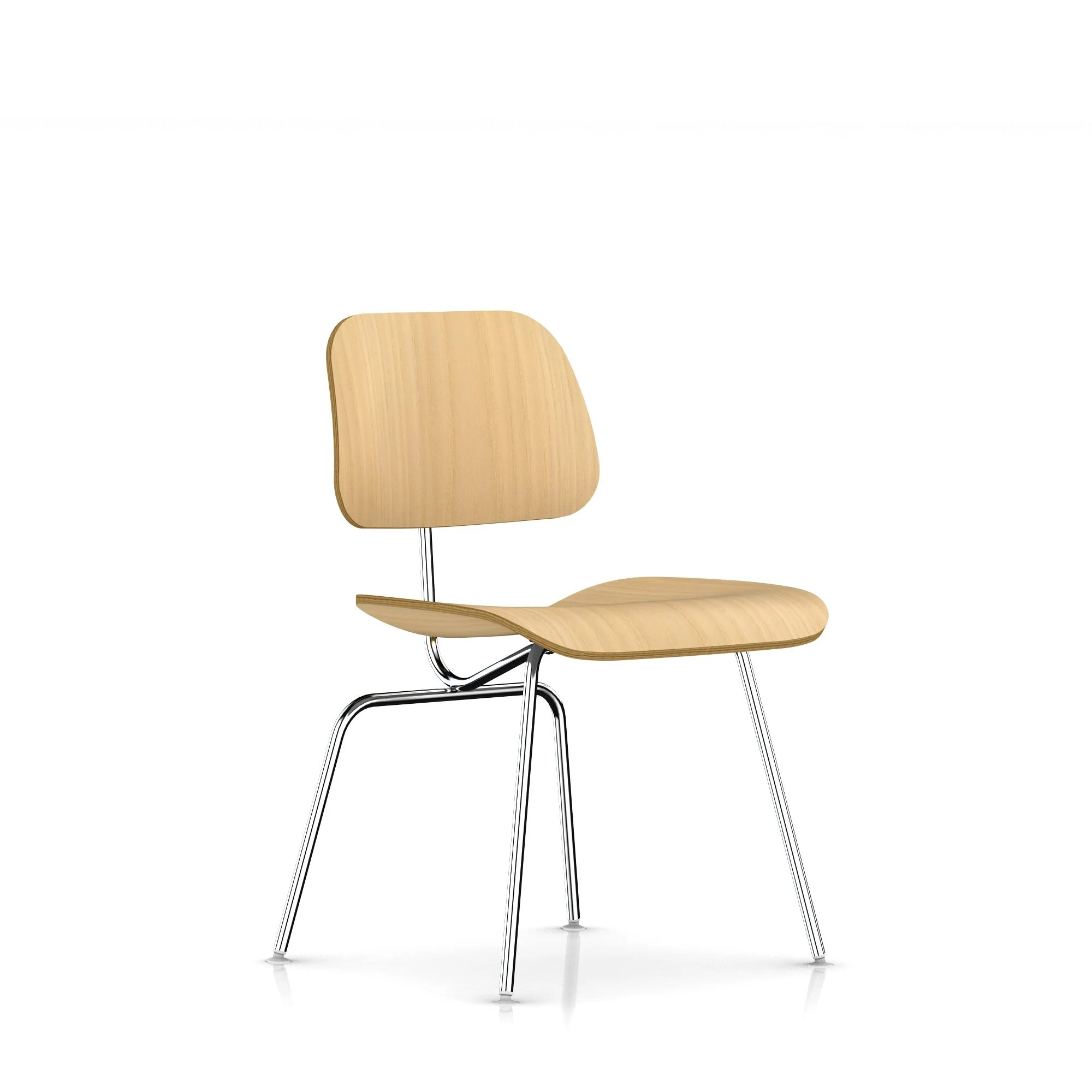 eames dining chair tiny electric herman miller molded plywood metal