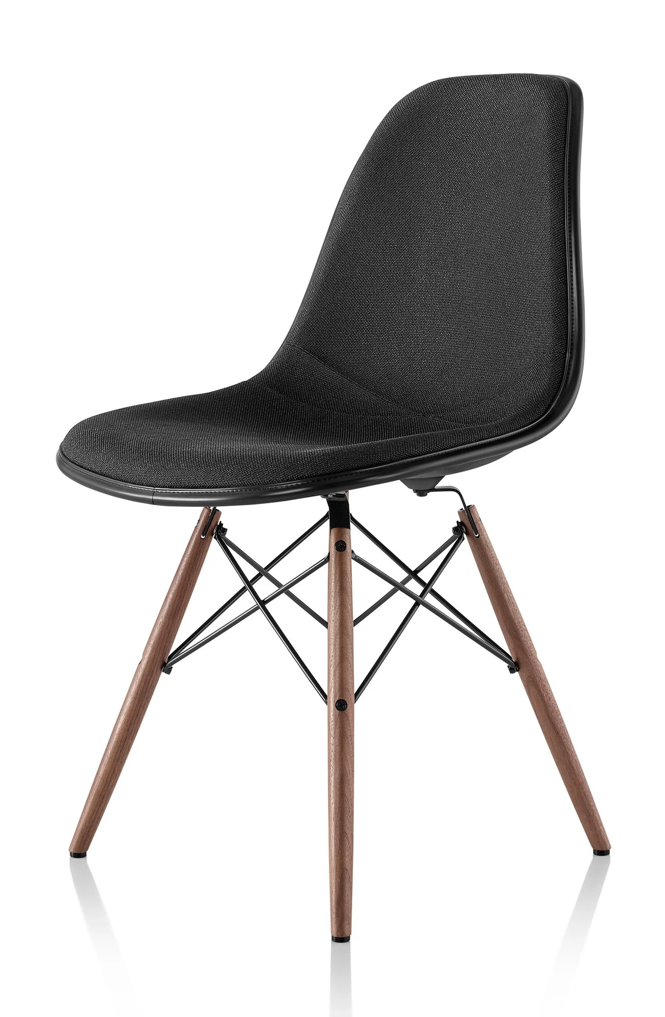 eames molded side chair lift chairs covered by medicaid herman miller plastic upholstered