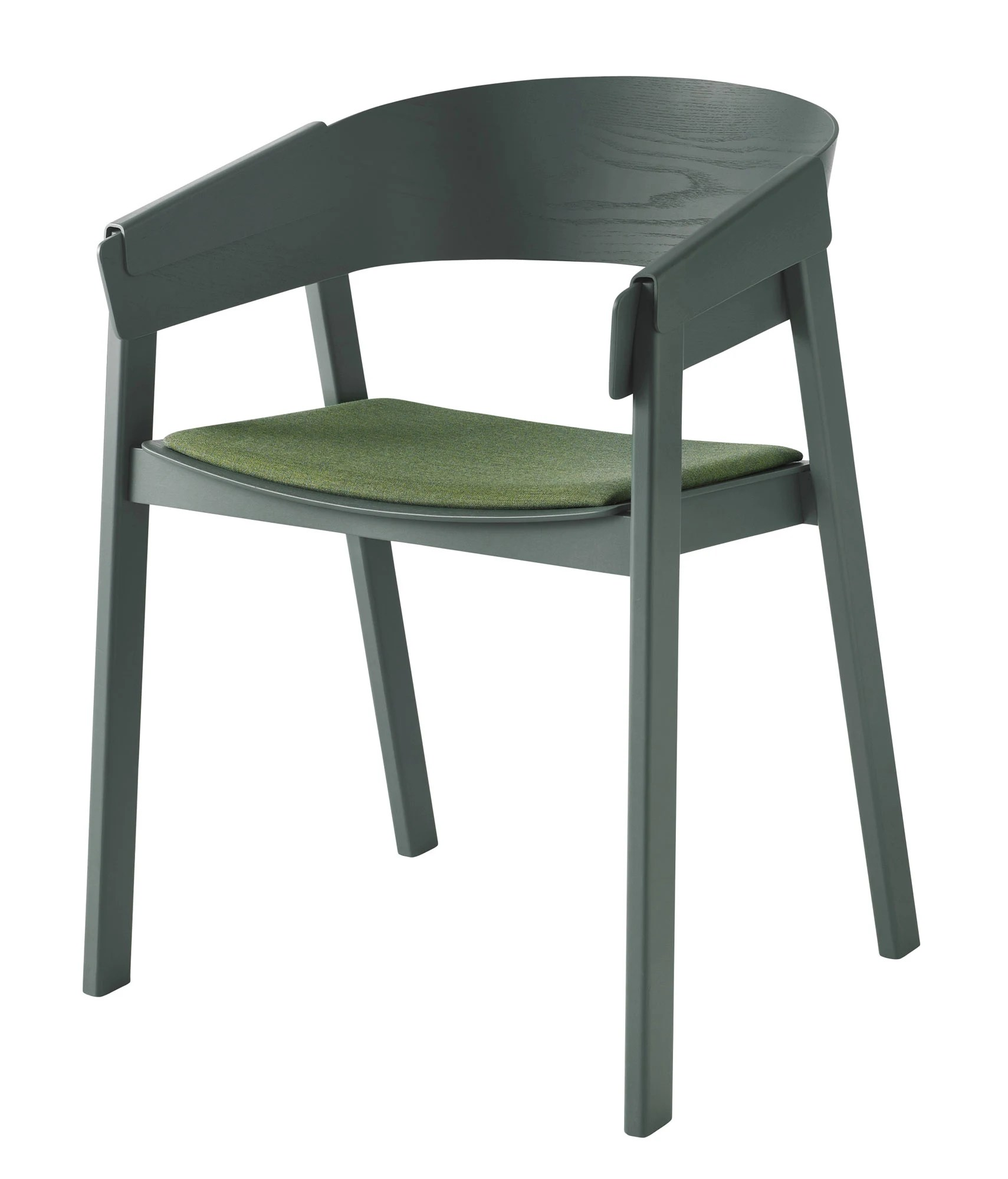 Green Upholstered Chair Muuto Cover Upholstered Chair