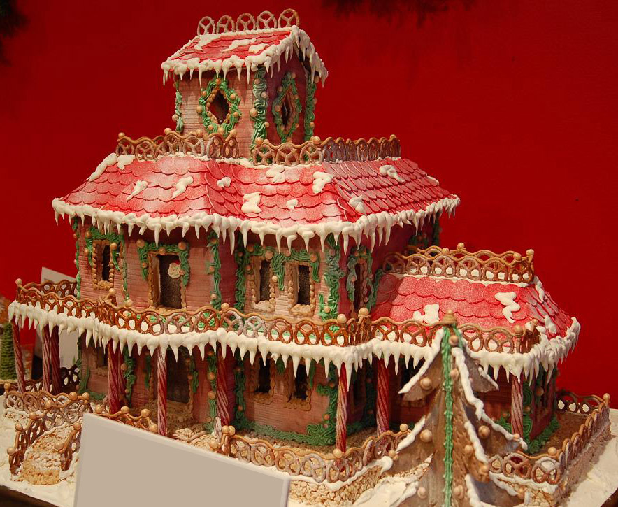 Extreme Gingerbread House Ideas House Interior