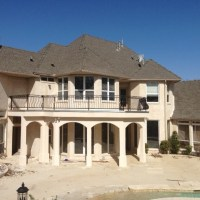 Post Construction Cleanup - Mansion in Flower Mound, Texas