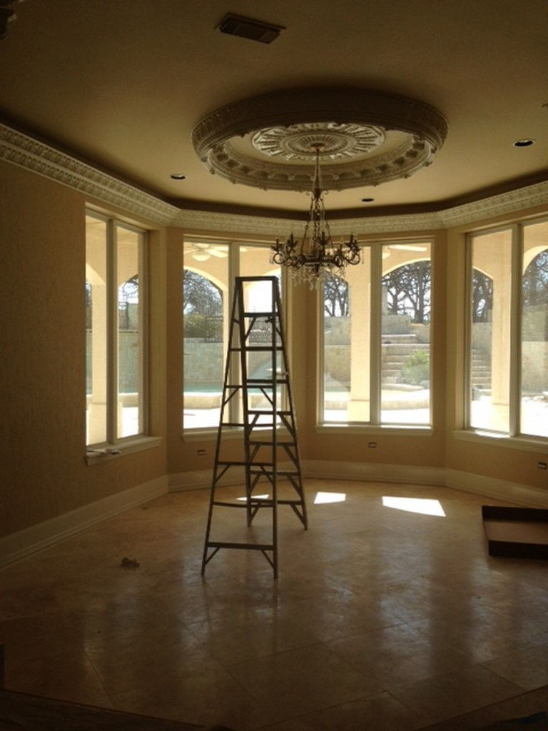 Luxury Property Post Construction Cleanup - Mansion in Flower Mound, Texas