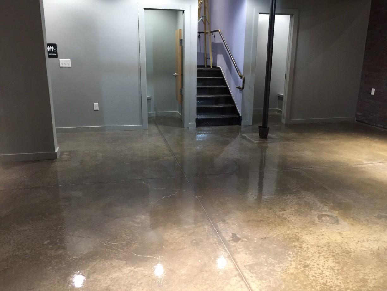 Park City Office Strip Seal And Wax Floors Grubbs Construction