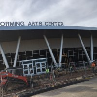 Wylie High School Performing Art Center Final Post Construction Clean Up in Abilene, TX
