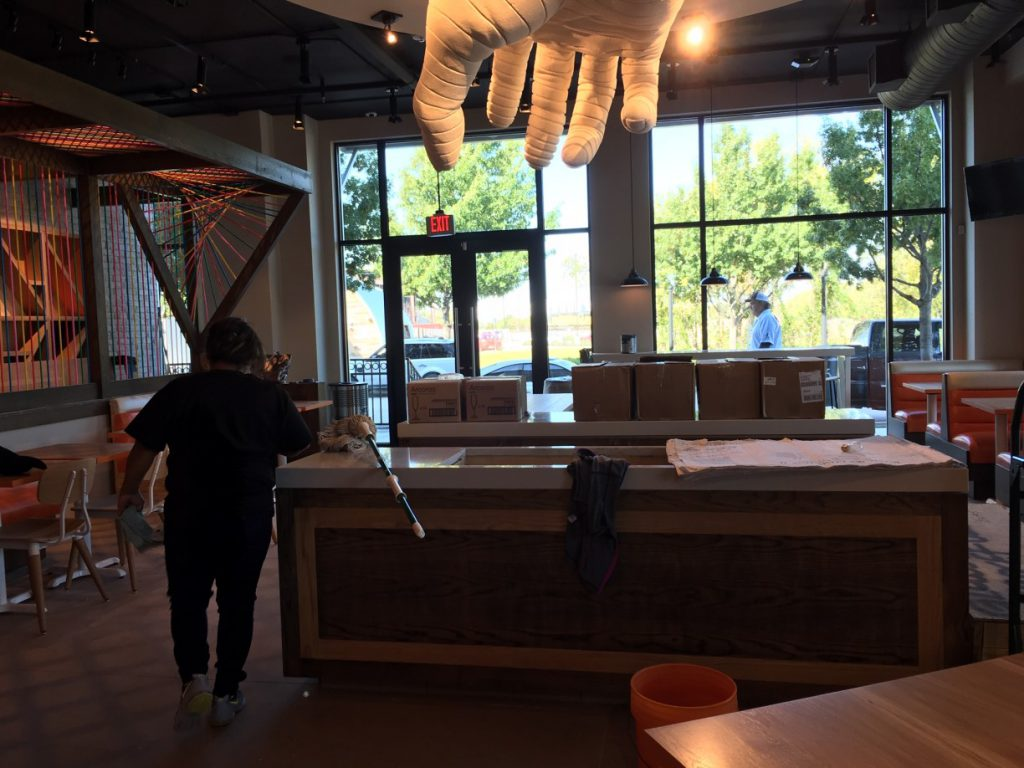 Stack Restaurant Rough Post Construction Cleaning Southlake TX 018 1024x768 Stack Restaurant Rough Post Construction Cleaning, Southlake, TX