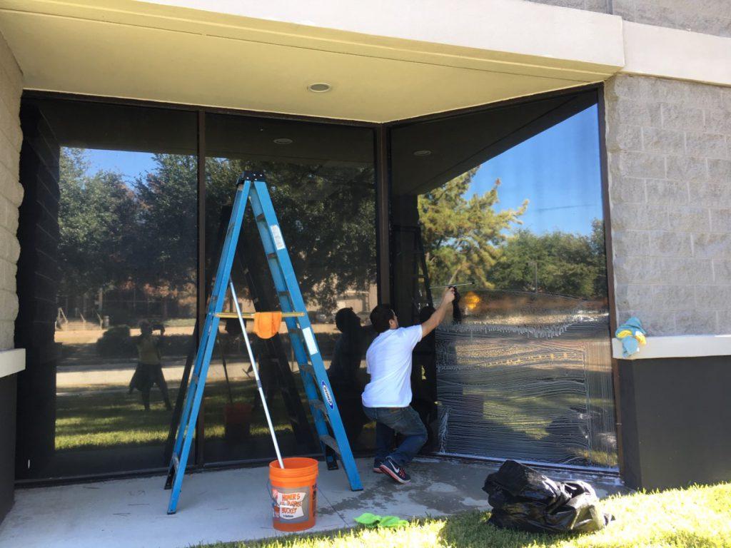 Warehouse Church Store Final Post Construction Clean Up in Plano TX 017 1024x768 Warehouse Church Final Post Construction Clean Up in Plano, TX