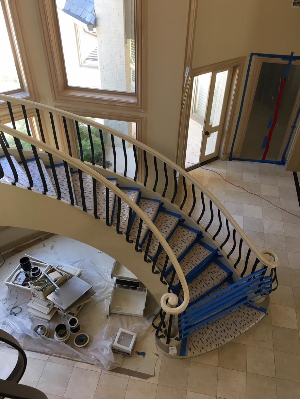 Large Corner Mansion Final Post Construction Cleaning in Dallas TX 00025 Large Corner Mansion Final Post Construction Cleaning in Dallas, TX
