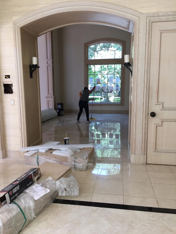 Large Corner Mansion Final Post Construction Cleaning in Dallas TX 00033 Large Corner Mansion Final Post Construction Cleaning in Dallas, TX