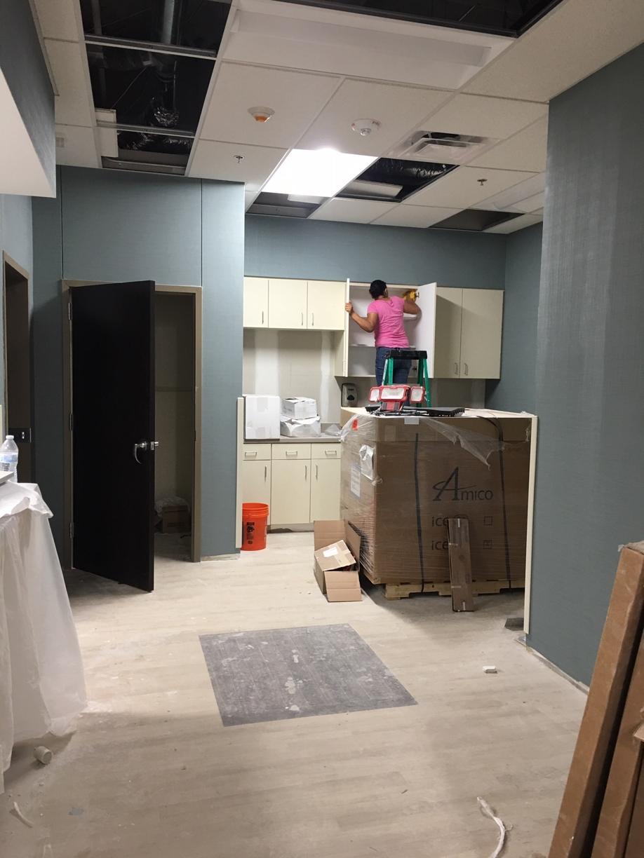 Surgery Center Rough Post Construction Clean Up in Dallas TX 001 Surgery Center Rough Post Construction Clean Up in Dallas, TX