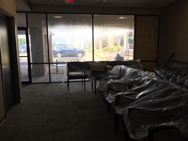 Surgery Center Rough Post Construction Clean Up in Dallas TX 017 Surgery Center Rough Post Construction Clean Up in Dallas, TX