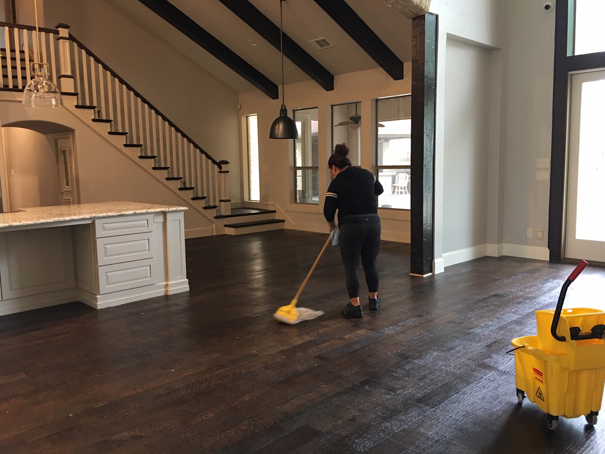 %name Large House Final Post Construction Cleaning in Flower Mound, TX