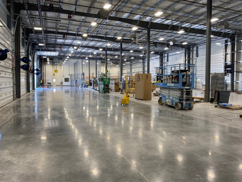 %name Home Depot Warehouse and Office Post Construction Cleaning in Fort Worth, TX