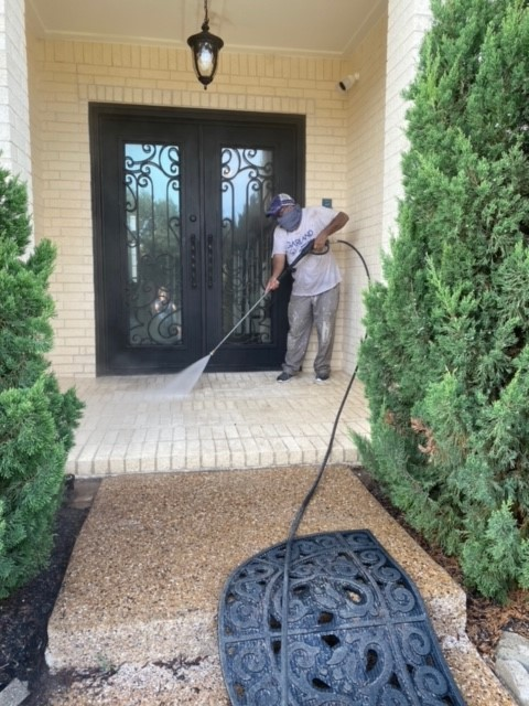 House Exterior Pressure Washer in Plano TX 00008 House Exterior Pressure Washer in Plano, TX