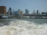 Taking a cruise around Manhattan