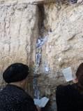 Prayers at the Western Wall