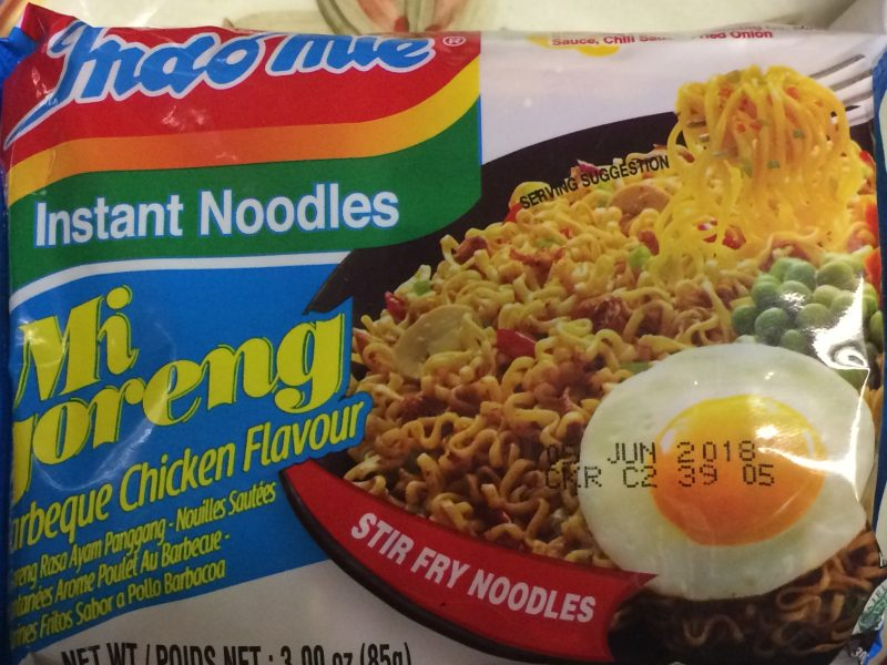 Ramen: Indomie Barbeque Chicken Flavor