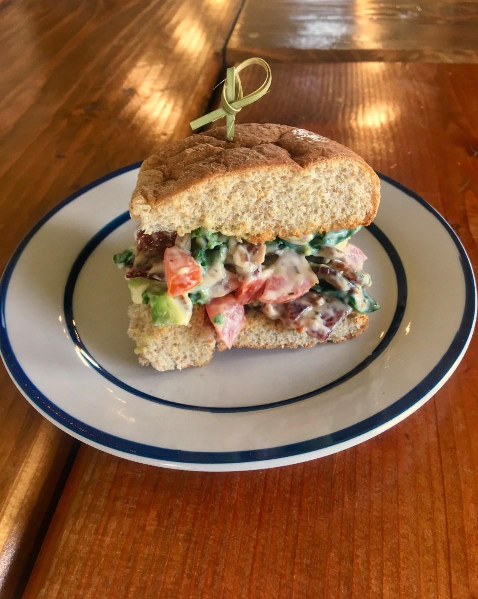 Mini BLAT-Salad Sandwiches