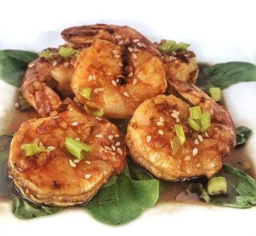 ww asian glazed shrimp
