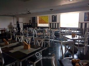 Interiors of restaurant