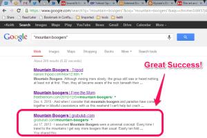 google-boogers