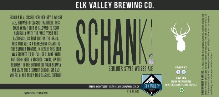 Elk Valley Schank Berliner Weisse