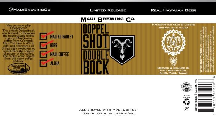 Maui Doppel Shot Double Bock