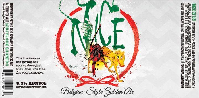 Flying Dog Nice Belgian Golden Ale
