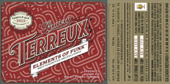 Bruery Elements of Funk