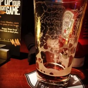 Upslope Brown Ale at Yard House