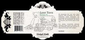 Wicked Weed Lost Toys Blend #2 Barrel-aged Sour Ale