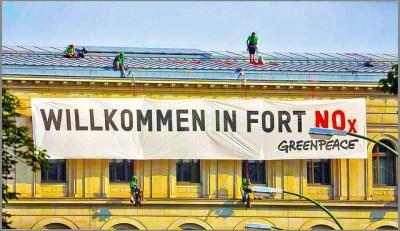 Greenpeace Aktion zum Diesel Gipfel am 4.8.2017, Foto by Karl-Ludwig Poggemann, Creative Commons Lizenz CC BY 2.0