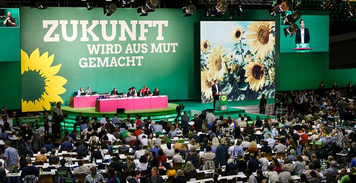 Bild: © Rasmus Tanck, Grüner Bundesparteitag 2017 - Zukunft wird aus Mut gemacht!