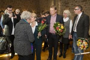 Zur Ordensverleihung gratulierten u. a. Christoph Bratmann (3.v.l.), Susanne Schmedt (4.v.l.) & Holger Herlitschke (5.v.l.)