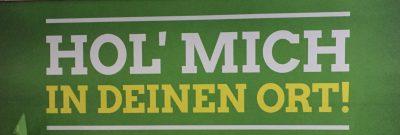 Bild: Bündnis 90/Die Grünen Braunschweig, Grüner Bundesparteitag 2017 - Hol mich in Deinen Ort