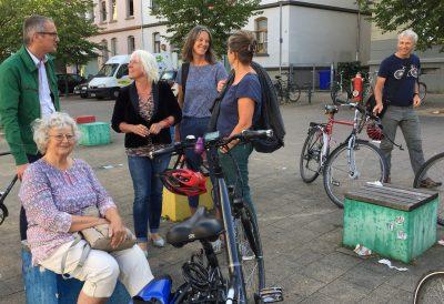 Radtour Gleichstellung und Verkehrsplanung, Bild Bündnis 90/Die Grünen Braunschweig