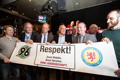 """""""Talk zum Niedersachsen-Derby"""" im Brauhaus """"Ernst August"""" am 04.11.2013 in Hannover (Foto: Florian Kleinschmidt / Braunschweiger Zeitung)"""