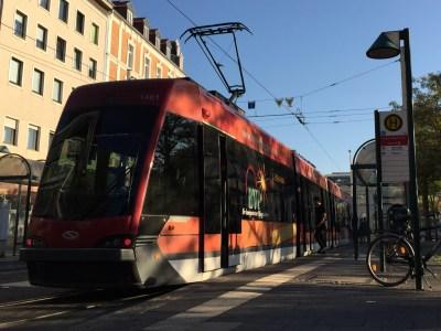 Tramino am Friedrich-Wilhelm-Platz