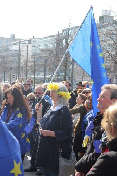 Susanne Schmedt bei Pulse of Europe Braunschweig