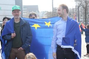 Jochen Sauer und Tilmann Krösche bei Pulse of Europe Braunschweig