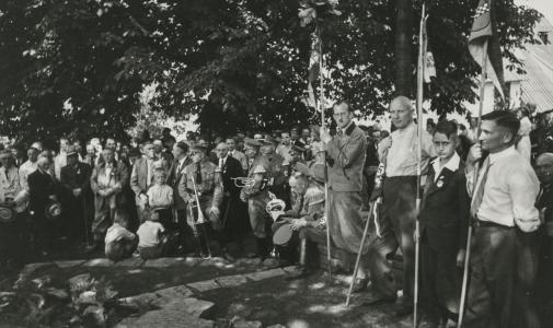 1937 Einweihung der Volmequelle © Foto: SGV