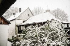 Schnee am Ostermontag