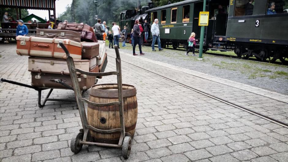 Märkische Museumseisenbahn, Sauerländer Kleinbahn © 2017 Foto: Stefanie Schildchen