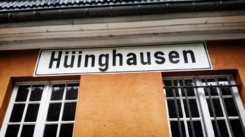 Bahnhof Hüinghausen, Herscheid, Sauerländer Kleinbahn © 2017 Foto: Stefanie Schildchen