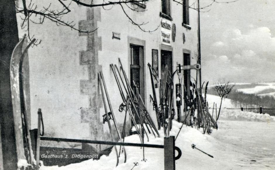 Wintersport in Meinerzhagen, 1938 © Foto: Sammlung Schildchen