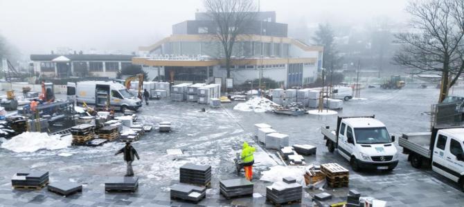 Stadthalle: Ganzheitlicher Entwurf im Januar